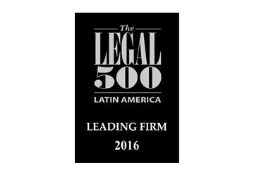 Resultado de imagen para leading firm Legal 500 2016